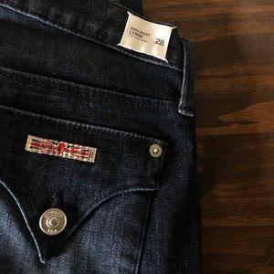 High waist Lynne flap super skinny Hudson jeans 28
